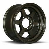 "Rota Grid Offroad 16"" 8"" 6x139mm ET5 Bronze Single Rim"