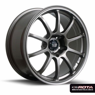 Rota FORCE 18x9 5x114.3 ET30 Bronze Set of 4 Wheels