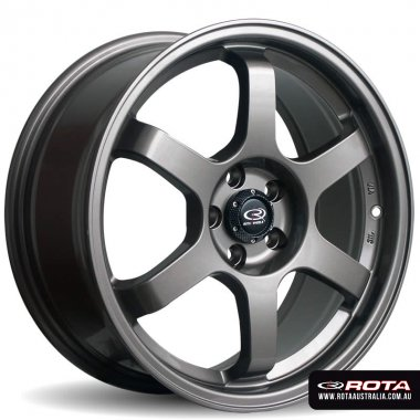 Rota GRID 15x7 4x100 ET40 Bronze Set of 4 Wheels