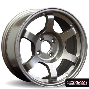 Rota GRID DRIFT 16x8 5x114.3 ET10 Bronze Set of 4 Wheels