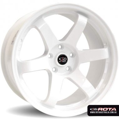 Rota GRID DRIFT 16x8 4x100 ET10 White Set of 4 Wheels