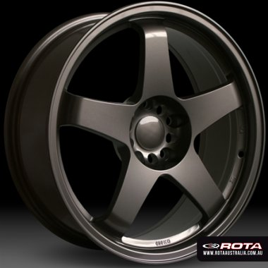 Rota GTR 18x9.5 5x114.3 ET30 Bronze Set of 4 Wheels