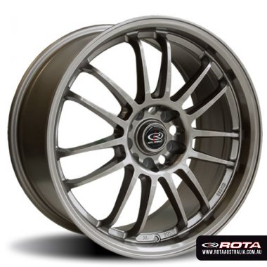 Rota SVN 18x9 5x114.3 ET30 Bronze Set of 4 Wheels