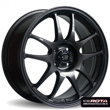 Rota TORQUE 17x7.5 5x114.3 ET45 Gunmetal Set of 4 Wheels